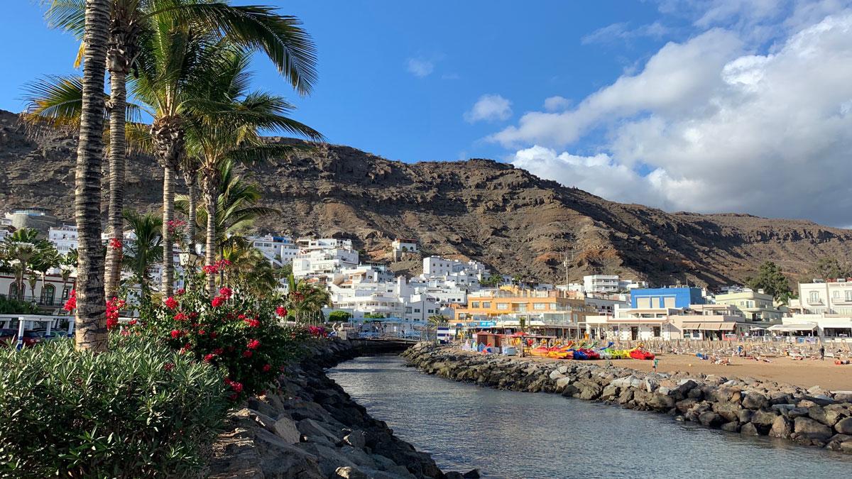 """Puerto de Mogan: Ein """"Must"""" für jeden Inselbesucher. Foto WR"""