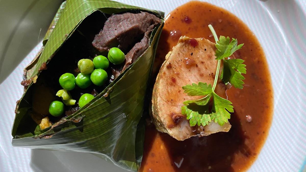 Traditionelles Essen modern interpretiert: Tamales im Parador. Foto: Inna Hemme