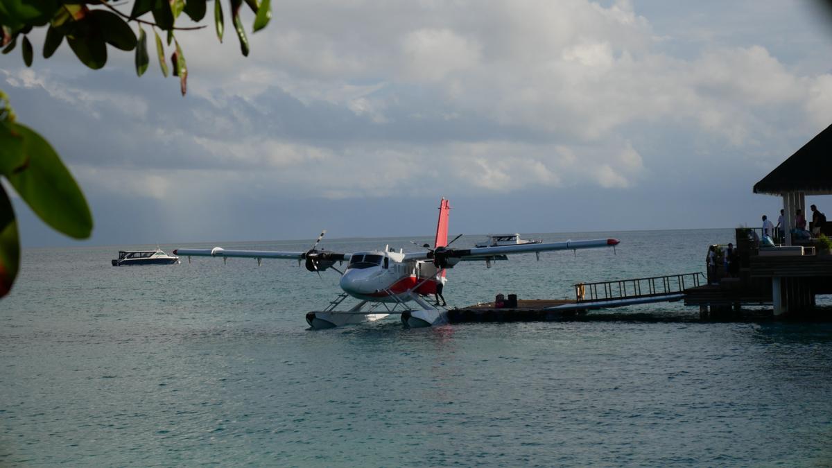 Abreise vom Baa Atoll des Seaside Finolhu. Foto: Jürgen Wenzel