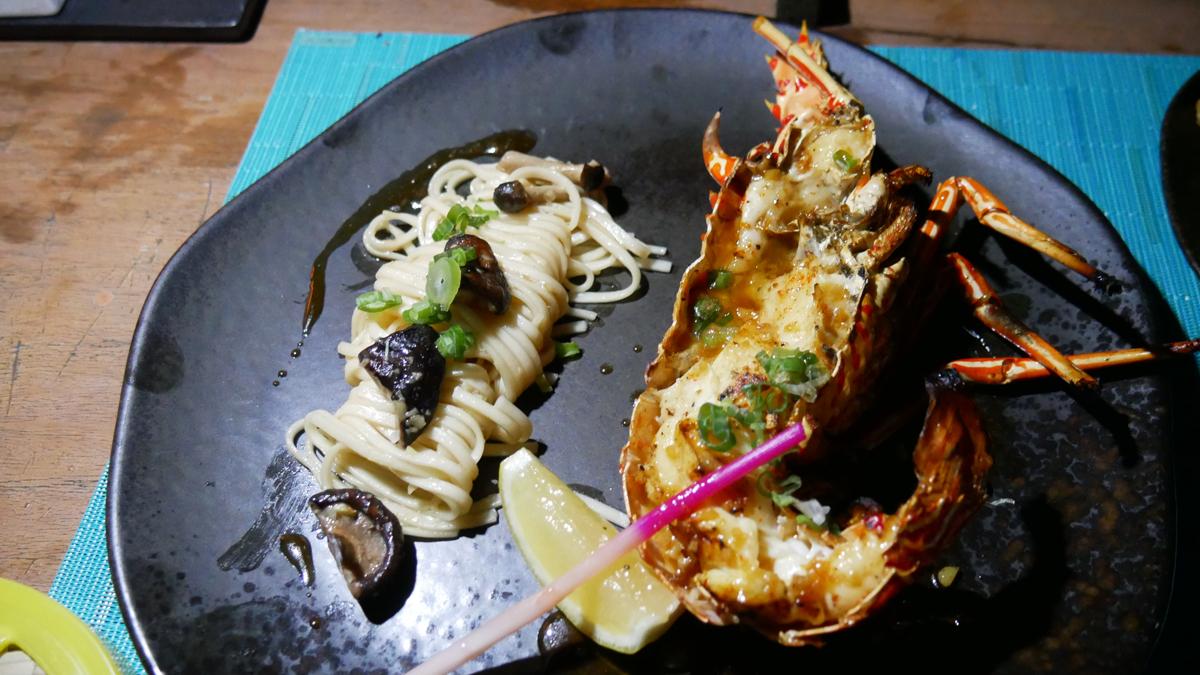 Dinner im japanischen Restaurant Kata des Fairmont Hotels. Foto: Jürgen Wenzel