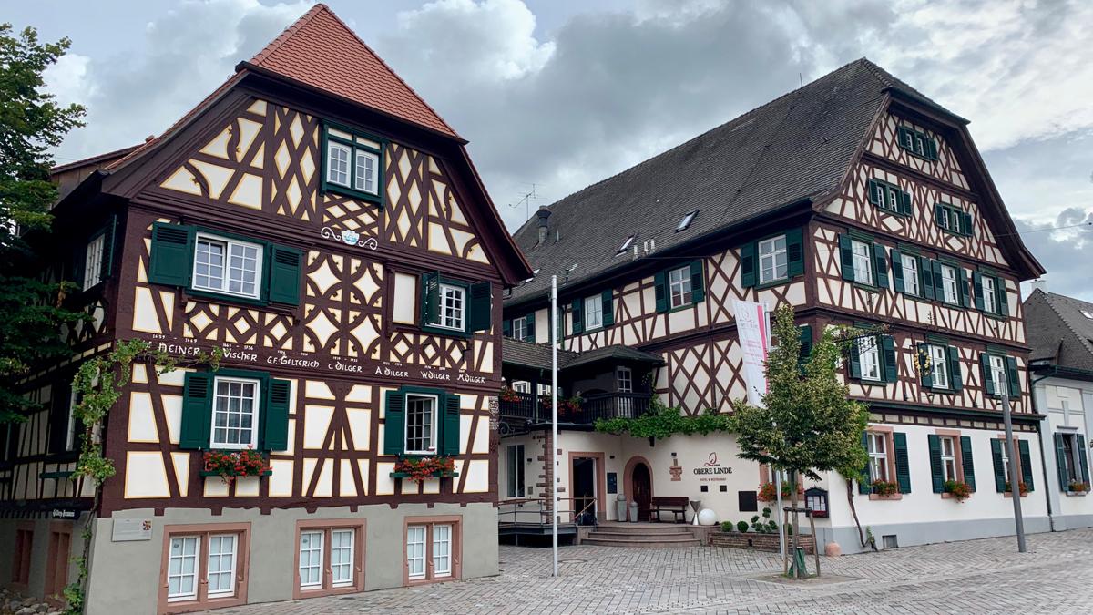 "Romantikhotel ""Obere Linde"" in Oberkirch. Foto WR"