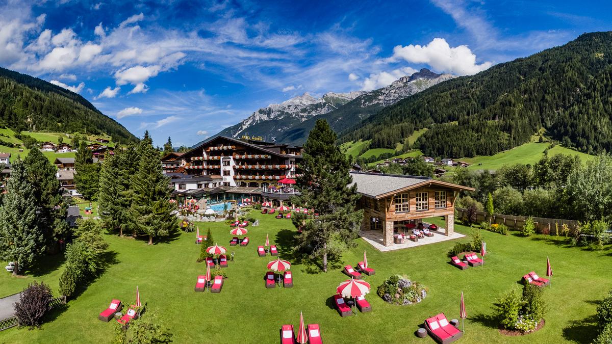 Der Jagdhof im Stubaital: eine der schönsten Adressen in Österreich. Foto WR
