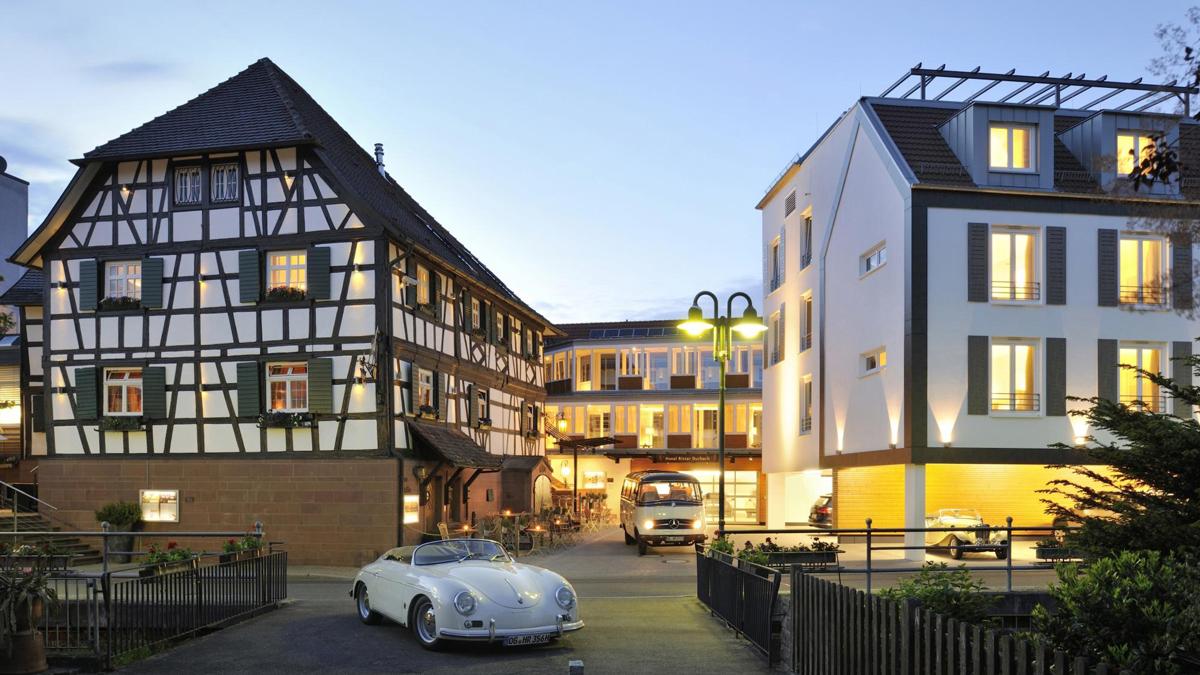 """Beste Adresse in der Ortenau: Der """"Ritter"""" in Durbach, Gourmet-Restaurant/Hotel mit einem Michelin-Stern."""