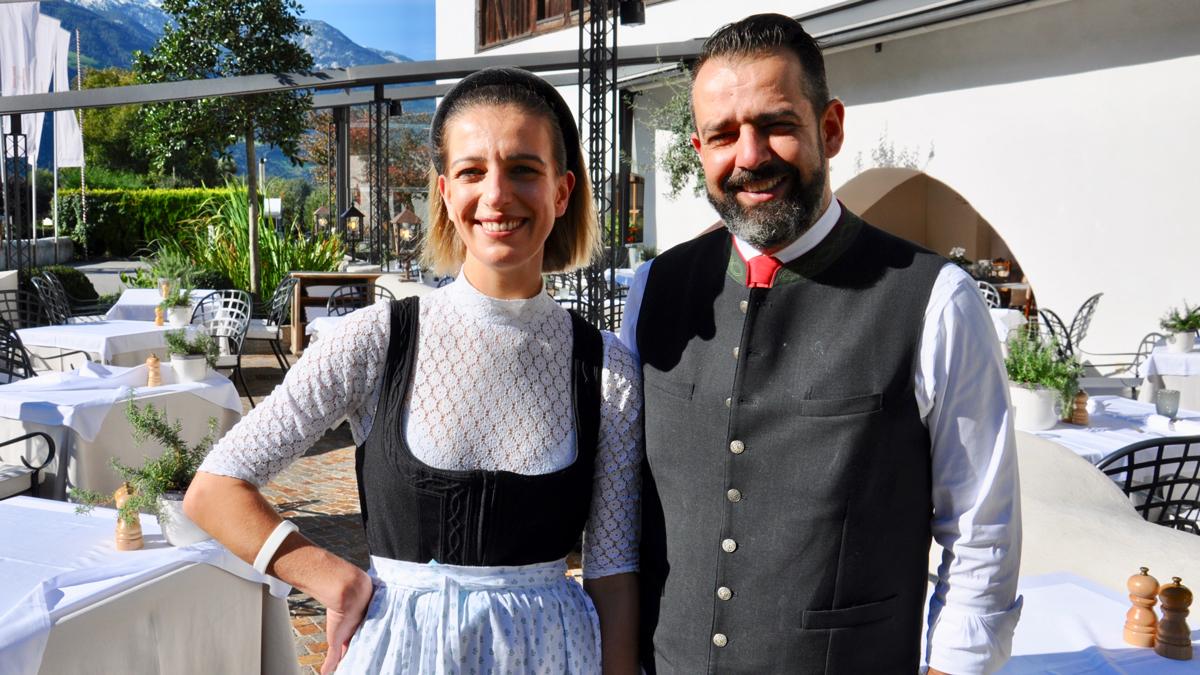 Das Power-Paar im Hanswirt: Matthias Laimer und Schwester Gerlinde. Foto WR