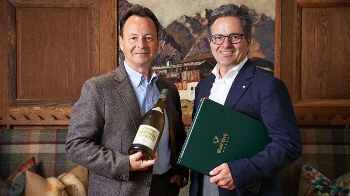 Erfolgreich als Hotelier und Winzer: Florian und Michael Moosbrugger. Foto Post